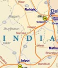 Rail Map of India