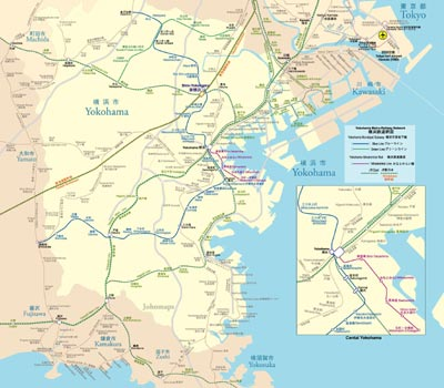Yokohama Metro Map
