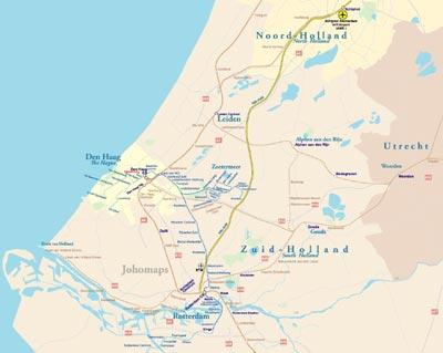 Metro Map of Randstad